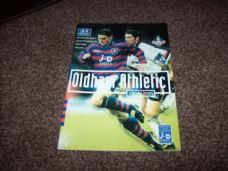 Oldham Athletic v Bristol Rovers, 1997/98